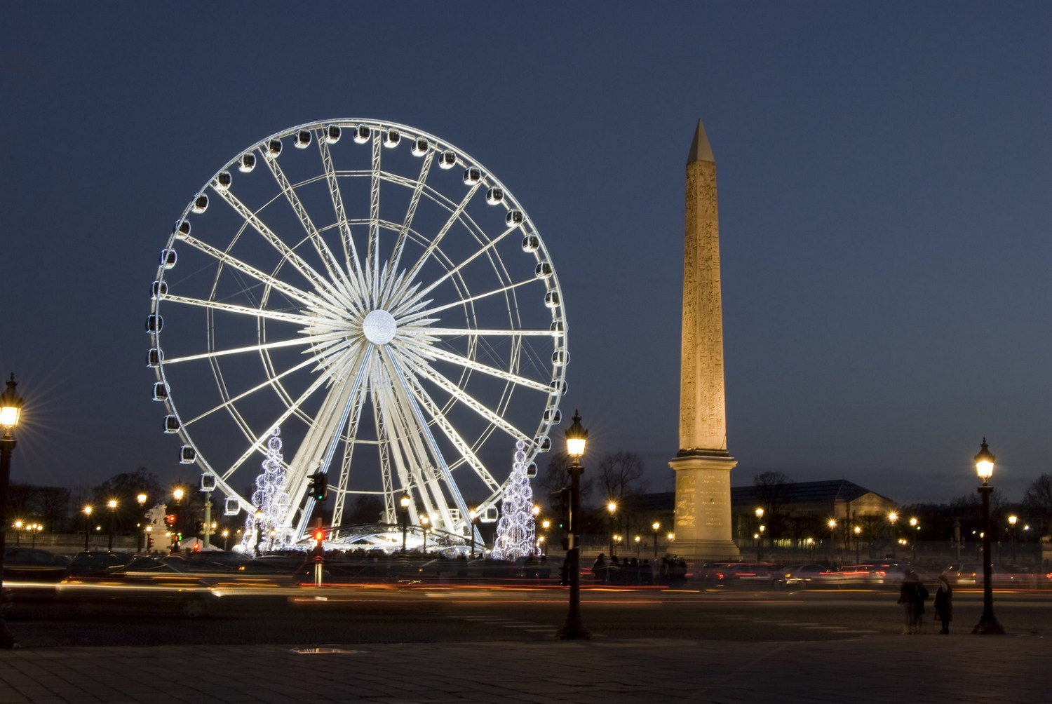 Place de la Concorde (by night)