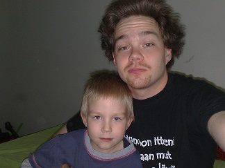 Me and my son 2010