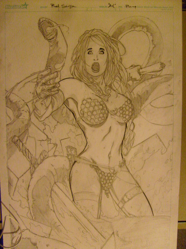 Red Sonja - Pencils
