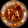 Logo fiery fearless assassins