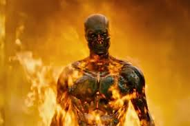 Me on fire