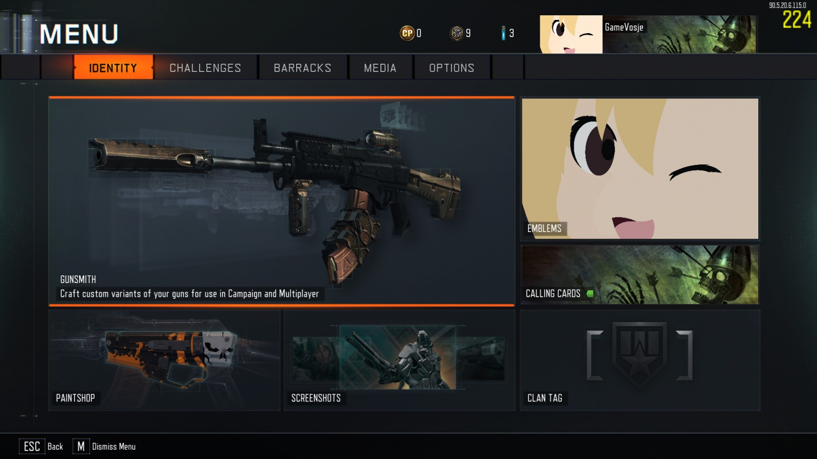 My emblem and calling card