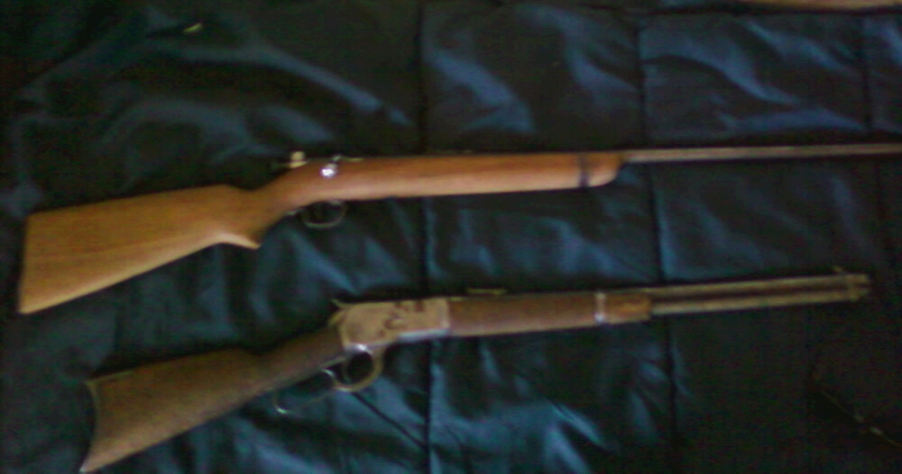 Gramps' old rifles