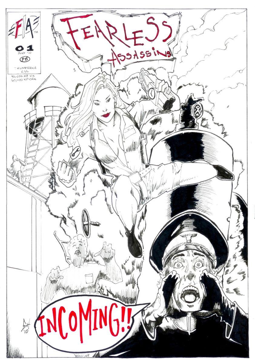 Commish: FA Comic cover
