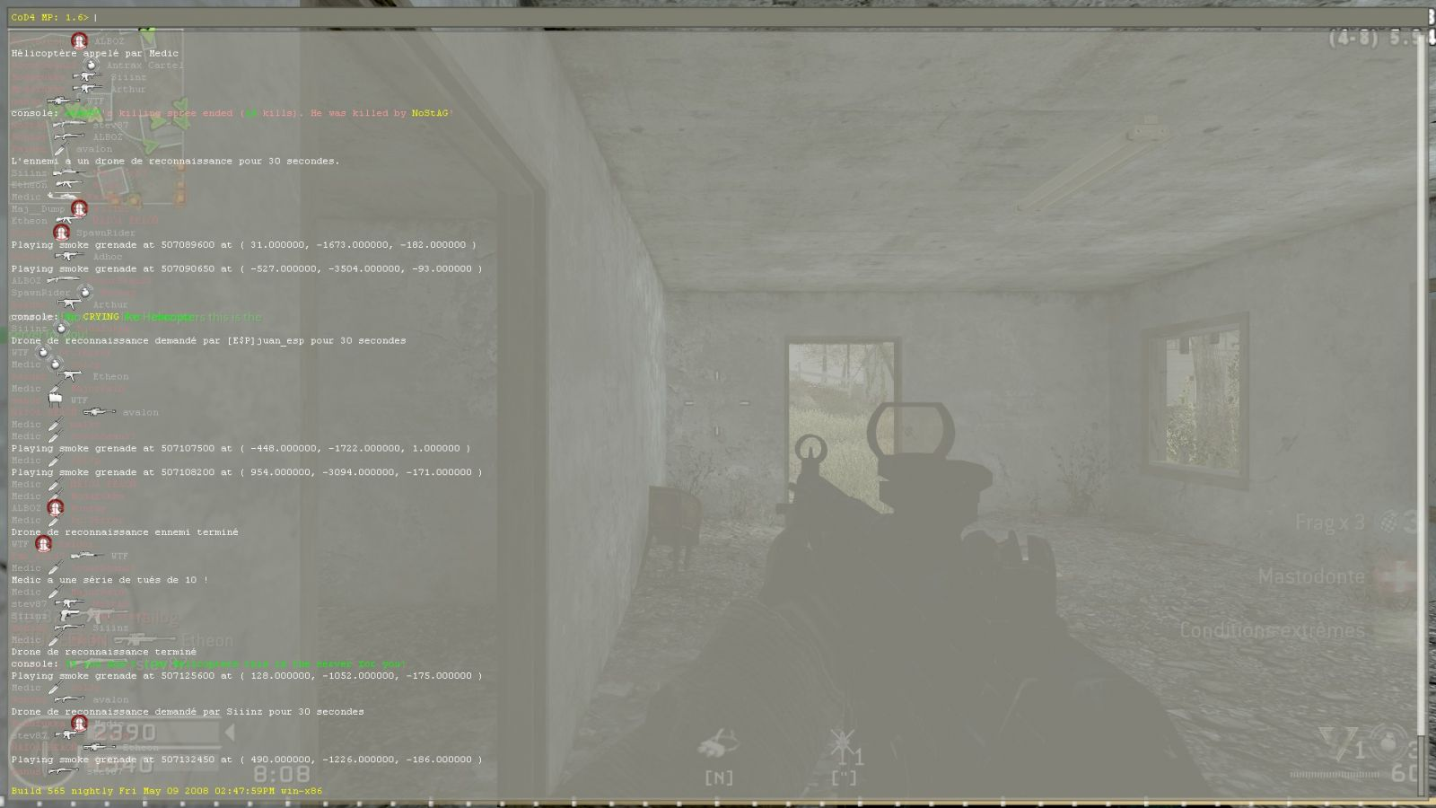 Cod4: Only knife time
