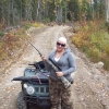 Me moose hunting, fall 2010