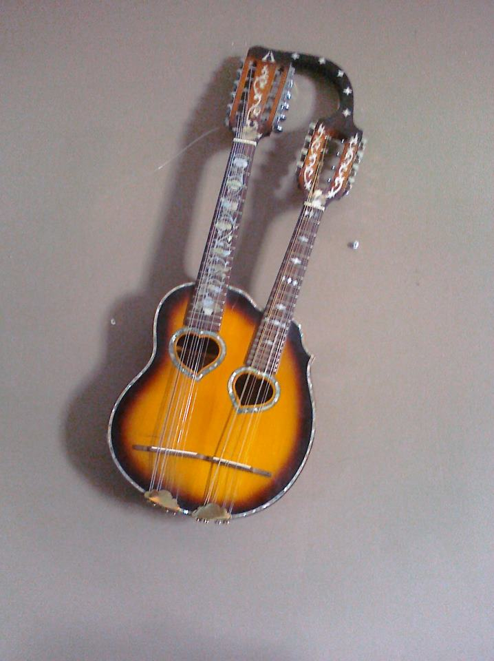 Double neck Mandolin