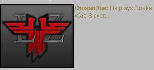 Chosenone blooper shoutbox