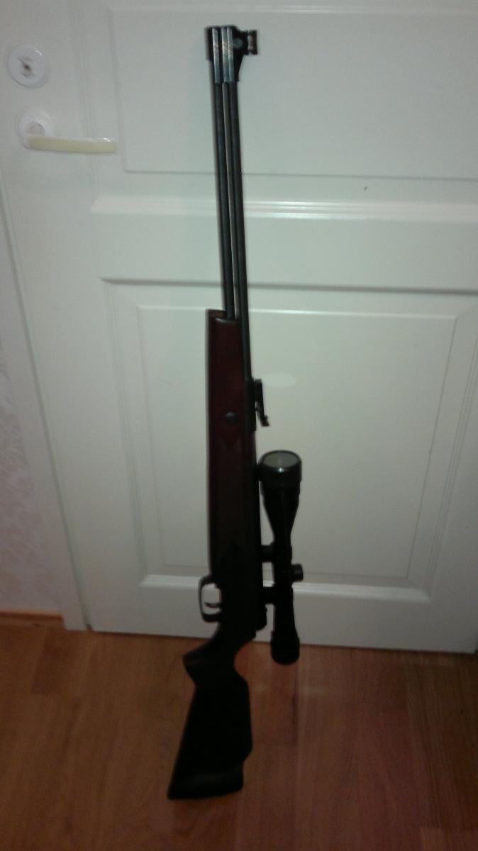 0.177 (4,5mm) airgun Hammerli Hunter Force 900 Combo