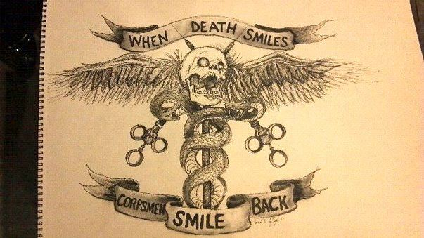 When Death Smiles, Corpsmen Smile Back