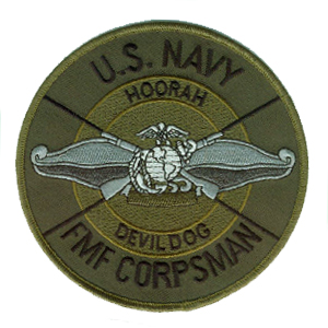 U.S. Navy Fleet Marine Force Corspman.....