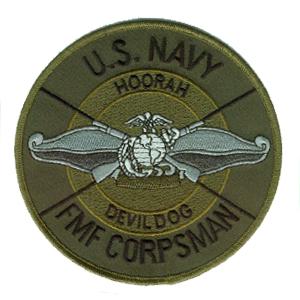 U.S. Navy Fleet Marine Force Corspman.....