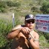 Holding a rattlesnake that I caught and returning it to a rattlesnake habitat