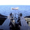 Twin .50 cal on Douhl boat Northern Arabian Gulf (NAG)