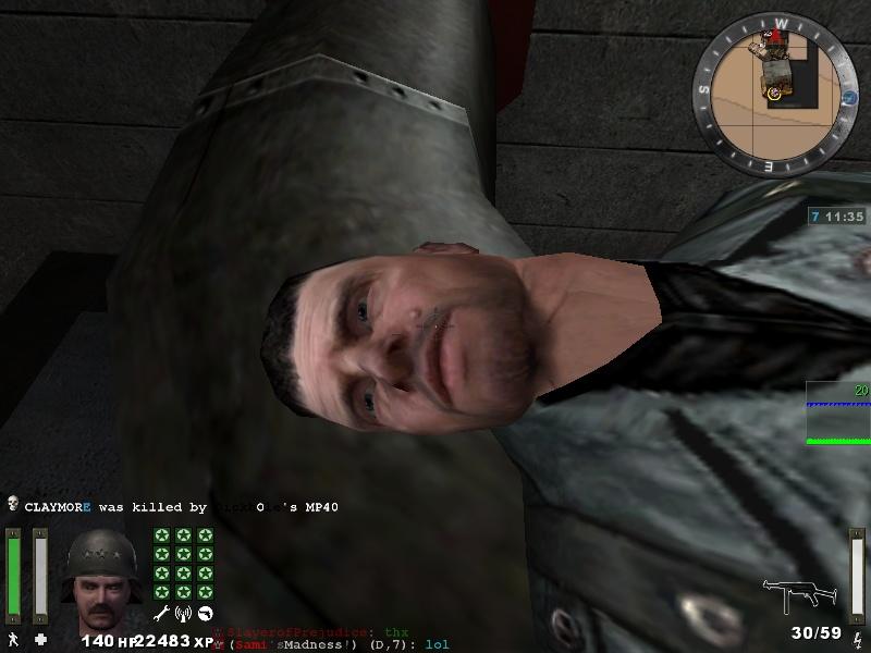 Encuentra el GRANO en la cara del CovertOps (Find the grain in the face of the soldier)