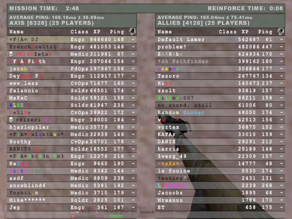 Jay1 server full 25 25
