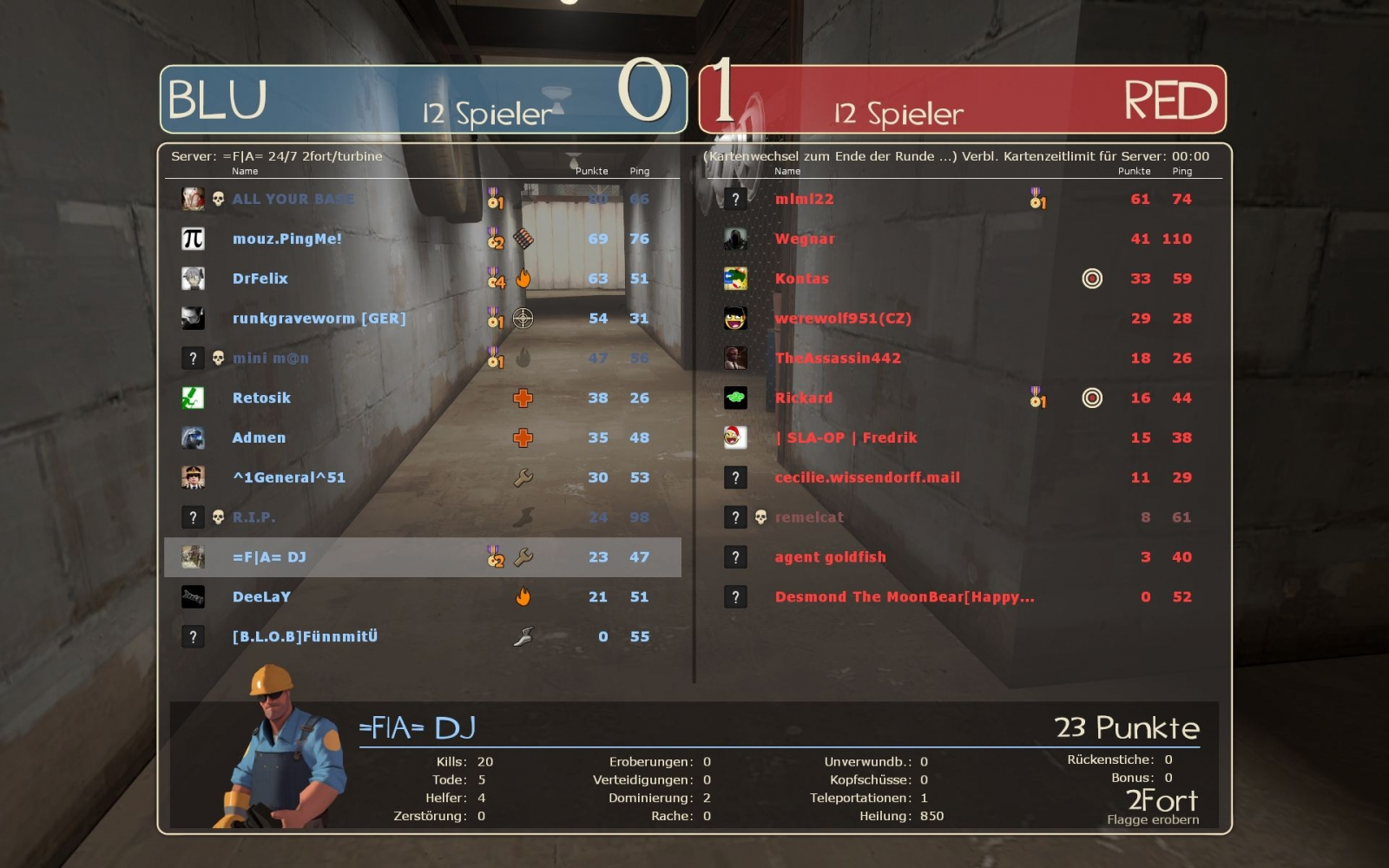 TF2 server Is full
