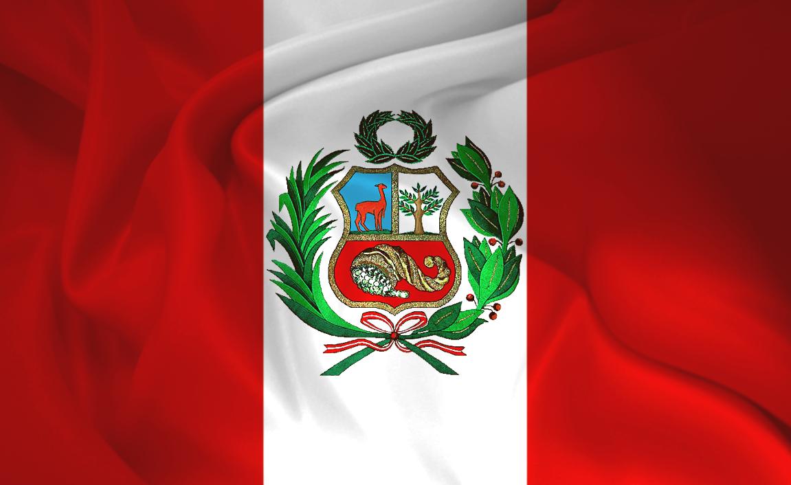 "Bandera Del Perú... Mi sangre"""