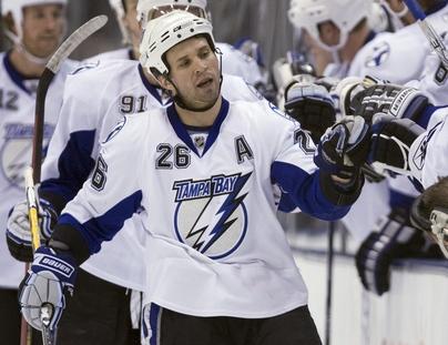 NHL Leafs Lightning 20090312