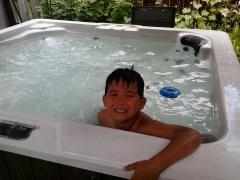 my son Hunter <3