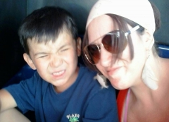 my son Hunter And I <3