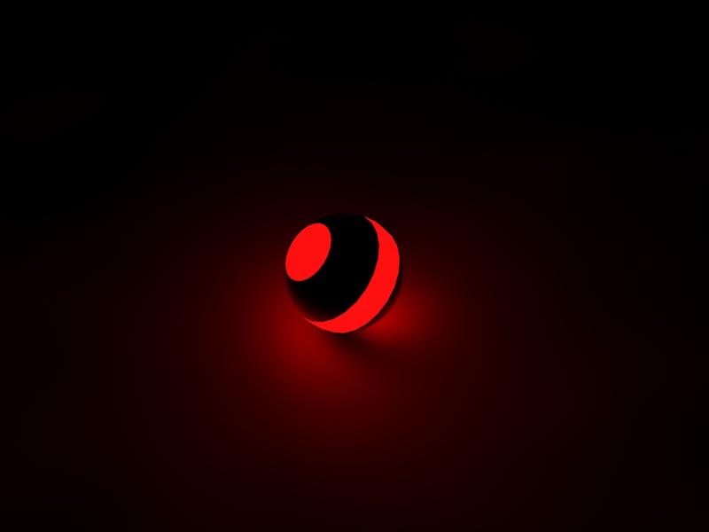 Ball illuminated by =F A=Scarface