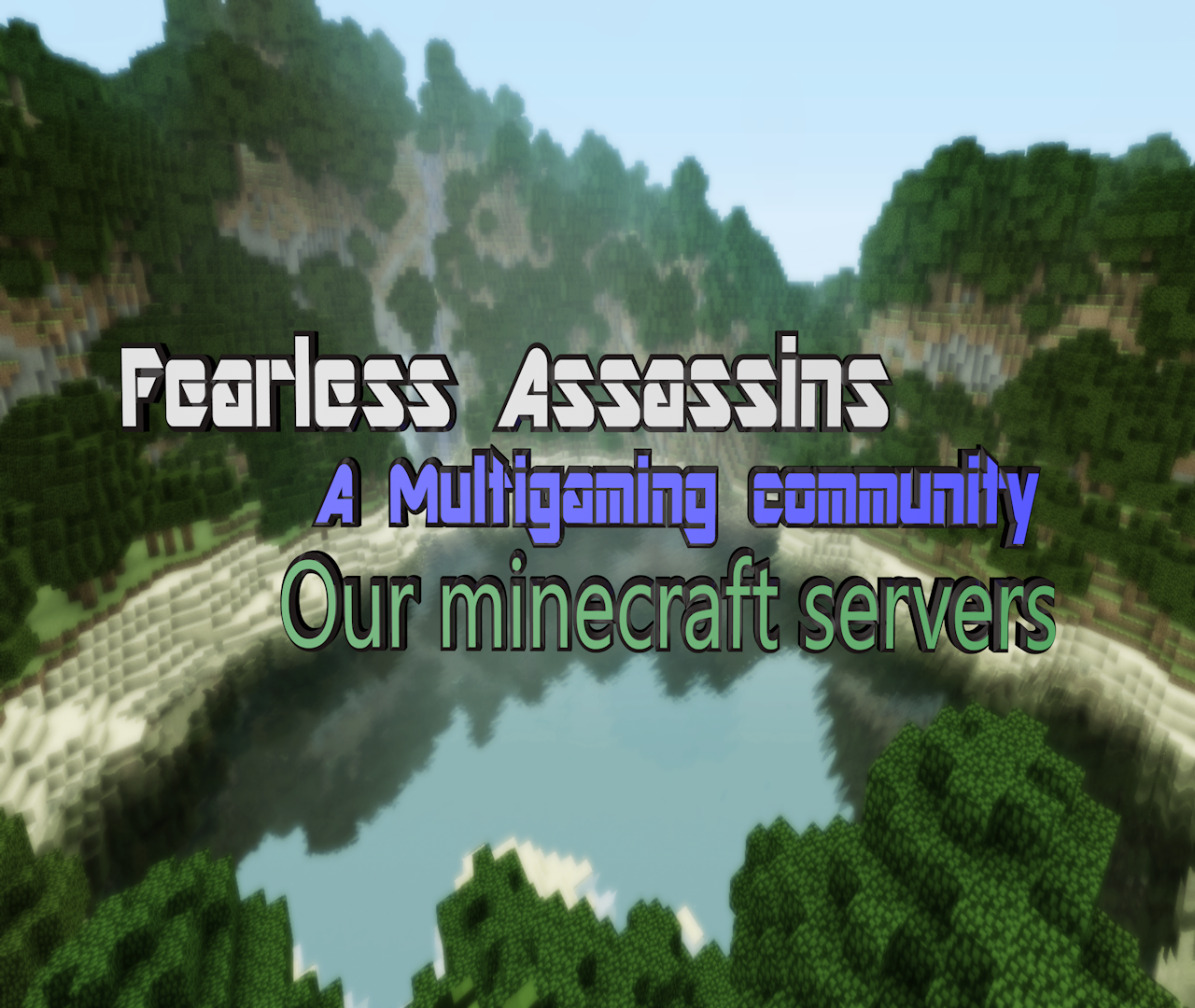 Presentation of the server minecraft image