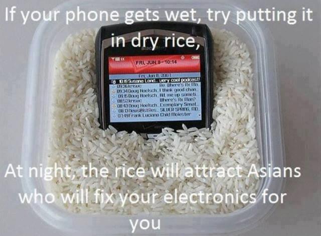 rice phone