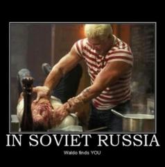 waldo russia