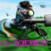 41416   army artist scatch42 Gun love And tolerance military rainbow dash sniper