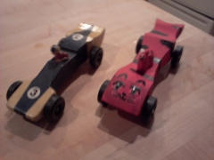Our cars side by side
