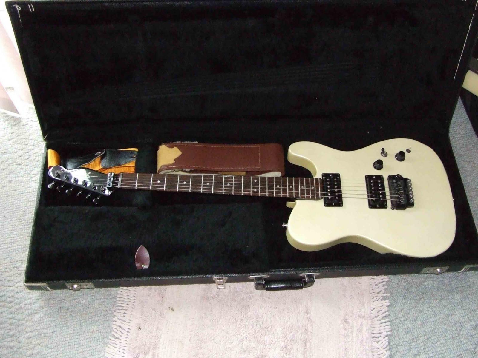 My custom Fender Telecaster