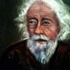 """Democritus"" OIl on Canvas"