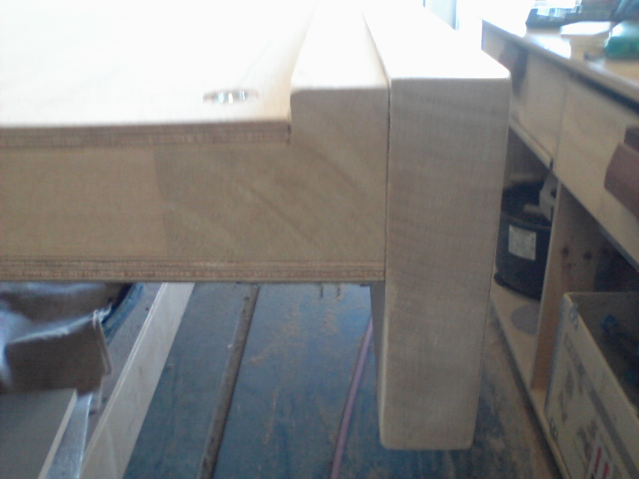 End profile Of trim Top joint