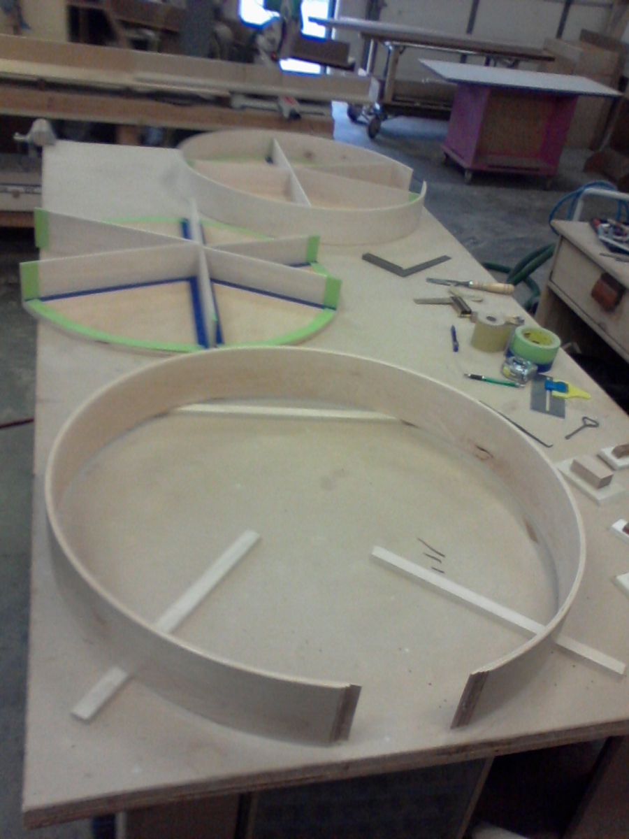lazy susan, under construction