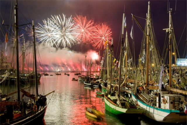 Brest Feux d'artifice