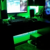 LED's turned to green