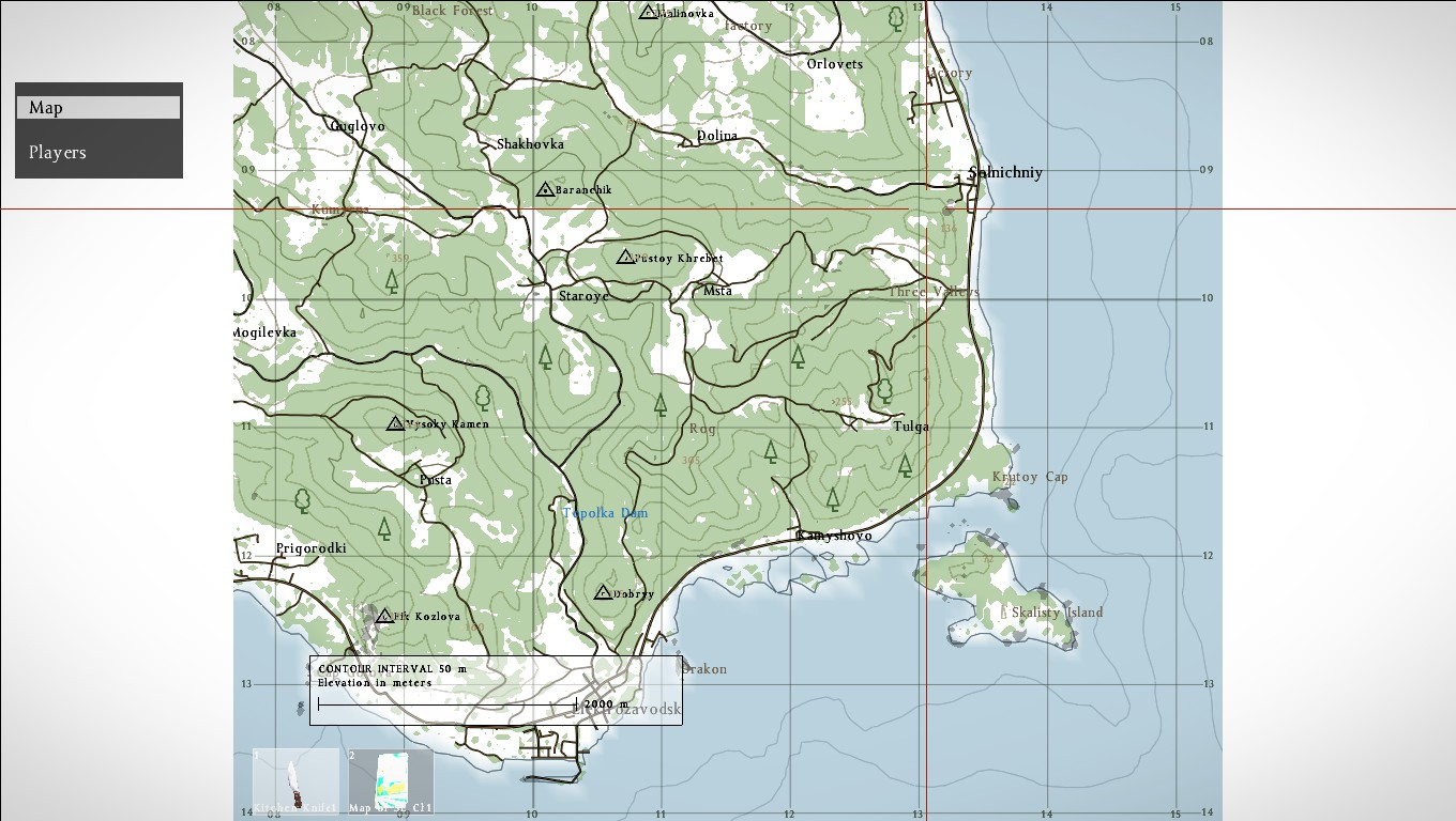 The map i found