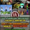 cod4 gameday weekend