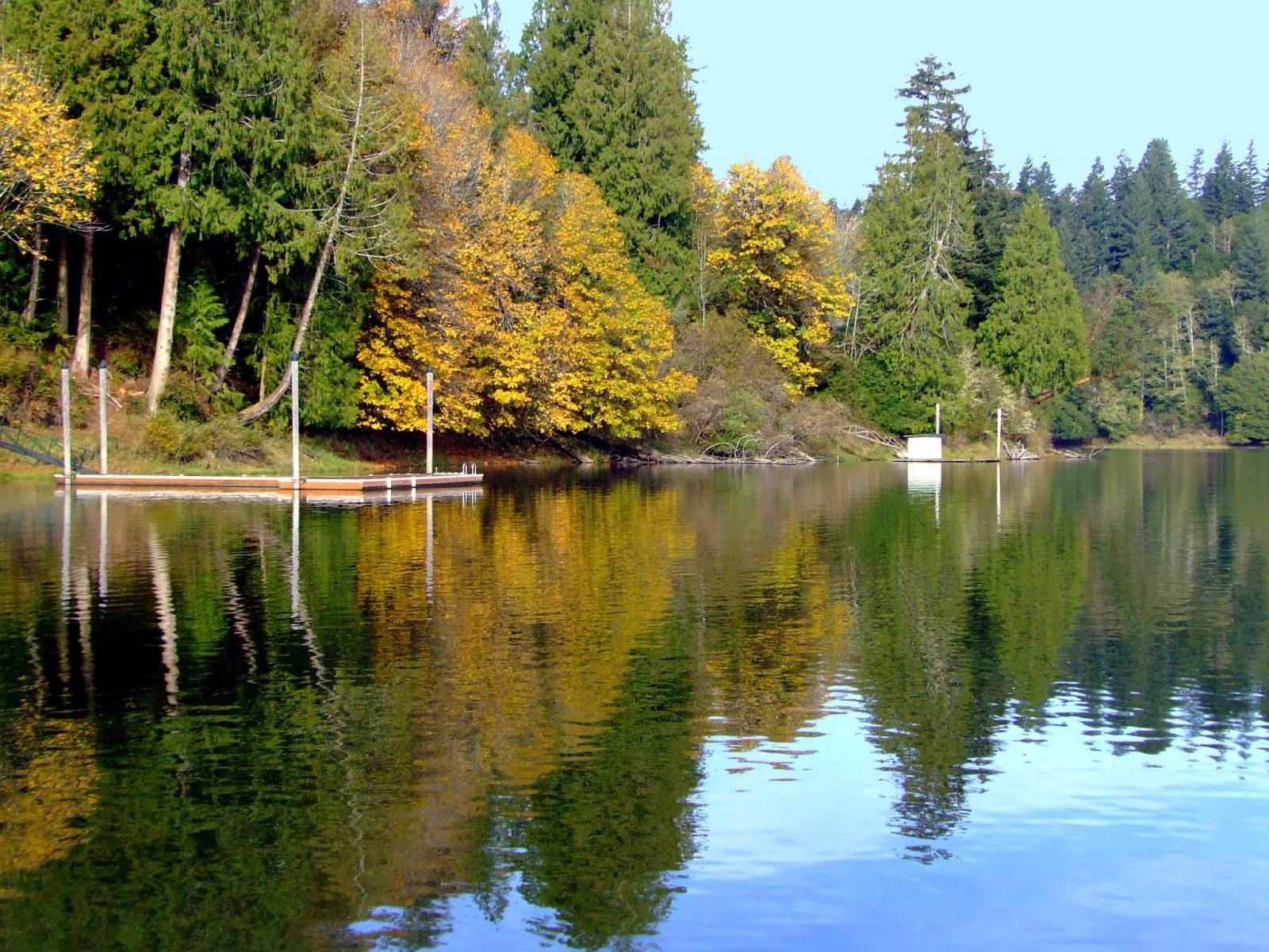Tenmile Lake in Oregon