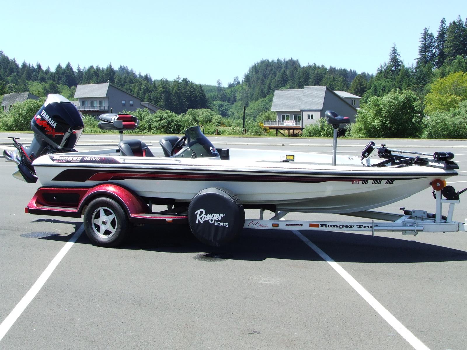 1997 Ranger 461VS Bassboat