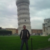 I on a business trip in Italy