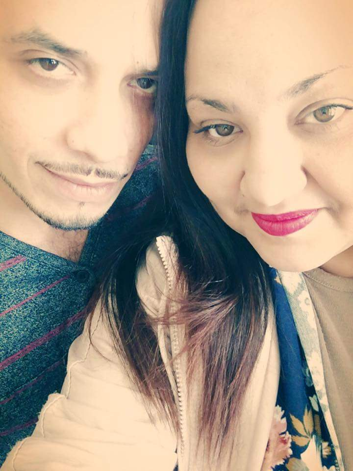 My husband and I :)