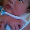Baby Jr is very awake & healthy <3