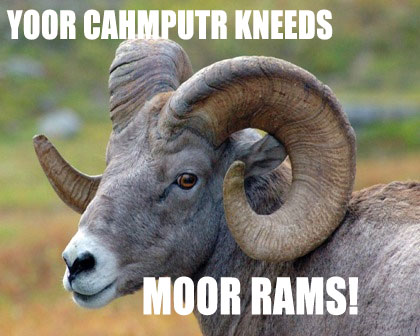 More RAM