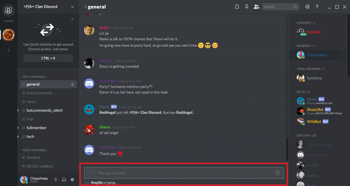 discord how to change the layout of voice calls
