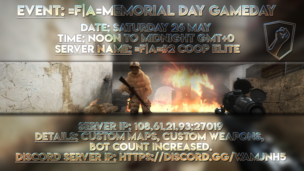 =F|A=Memorial Day GAMEDAY
