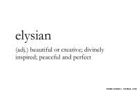 Elysian's Photo
